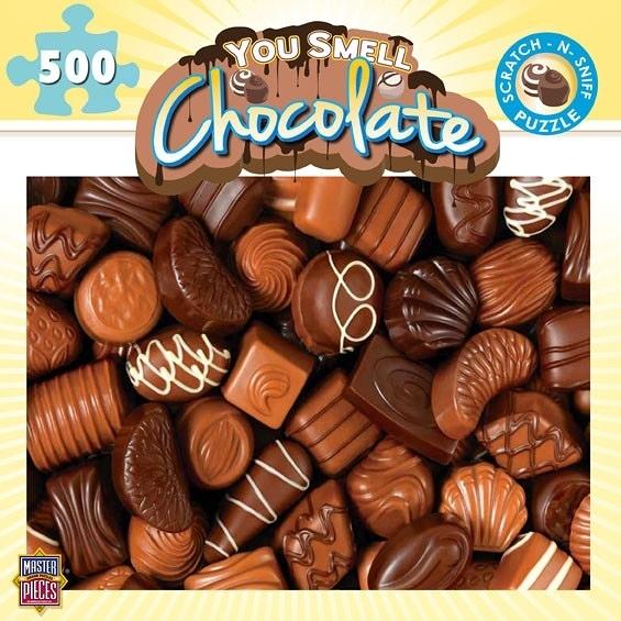 [KANGA GAMES]拼圖 巧克力 You Smell - Chocolate 500片