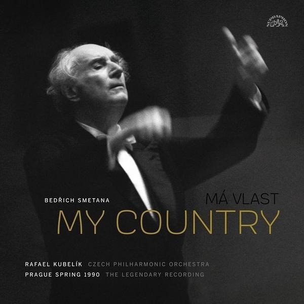 【停看聽音響唱片】【黑膠LP】史麥塔納:我的祖國 庫貝利克 指揮 (1990年布拉格之春音樂會)