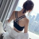美背內衣女學生韓版無鋼圈抹胸背心運動內衣防下垂文胸