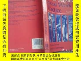 二手書博民逛書店ETHNIC-SENSITIVE罕見SOCIAL WORK PR