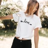 T卹 短袖 t恤 春装 love女裝T恤熱賣女T恤
