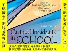二手書博民逛書店Critical罕見Incidents in School Counseling, 3rd EditionY4