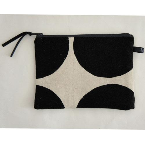 日本黑白幾何平面小袋~夏綠蒂didi-shop