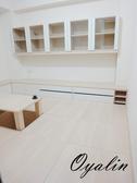 [系統家具] EGGER E1V313塑合板材簡約休閒和室系統櫃 總價174794特價122476