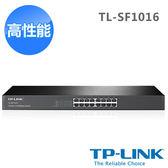 [哈GAME族]免運費 可刷卡 TP-LINK TL-SF1016 16埠10/100Mbps 機架裝載 交換器 HUB 標準19英吋