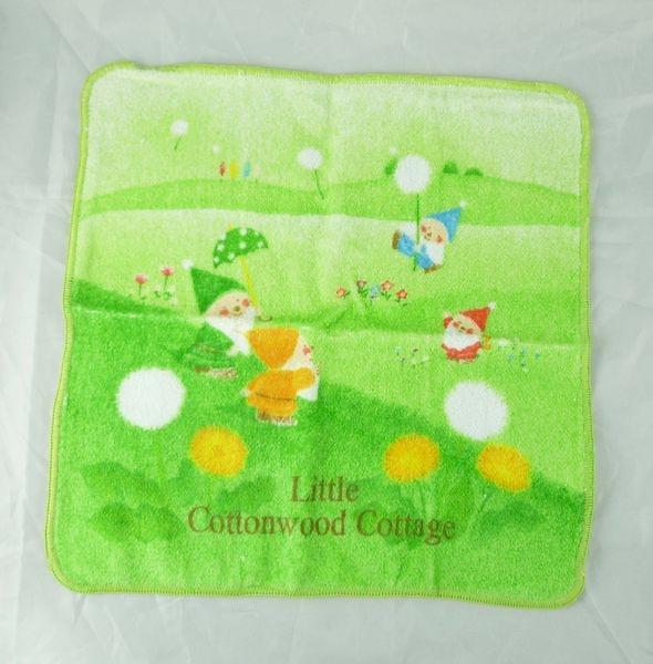 【震撼精品百貨】Little Cottonwood_七矮人~方巾『綠』