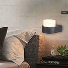 壁燈◆簡約小巧造型(黑色)◆單燈❖歐曼尼❖