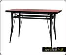 {{ 海中天休閒傢俱廣場 }} C-99 摩登時尚 餐桌系列 454-55 2X3尺美耐板餐桌/烤黑/烤銀腳(顏色可挑選)