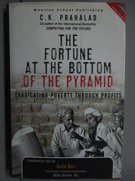 【書寶二手書T8/原文小說_YIO】The Fortune at the Bottom of the Pyramid_附