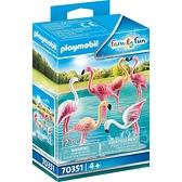 playmobil 動物園-红鹤_PM70351