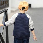 男童外套春裝棒球服開衫上衣