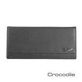 Crocodile Classic 經典系列荔紋軟皮長夾0103-3351
