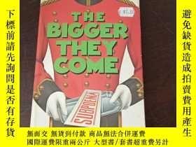 二手書博民逛書店The罕見Bigger They Come(英文原版)Y271942 A. A. Fair (Author)