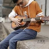 木吉他 古典吉他初學者新手兒童30寸入門女生36寸旅行吉它34寸民謠木吉他T 6色