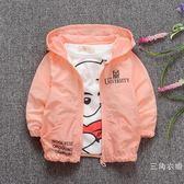 童裝韓版0-1歲寶寶秋冬外套2-3男女童拉?開衫秋季嬰兒夾克上衣潮