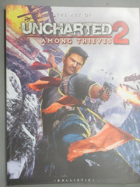 【書寶二手書T7/藝術_ZCC】The Art of Uncharted 2: Among Thieves_Wade,