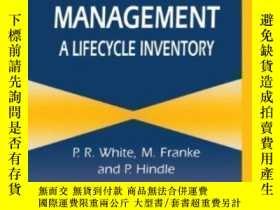二手書博民逛書店Integrated罕見Solid Waste Management: A Lifecycle Inventory