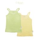 二入(1綠1黃) 超大網眼純棉布料,舒適透氣、排汗 台灣製造 棉100%