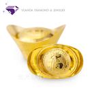 【元大珠寶】『納福金元寶』黃金元寶 重約10.00錢 純金9999*投資 收藏 保值 送禮 彌月*