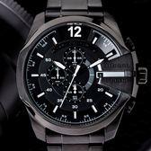 DIESEL TIMEFRAMES 不鏽鋼粗曠風度三眼腕錶 DZ4283 熱賣中!