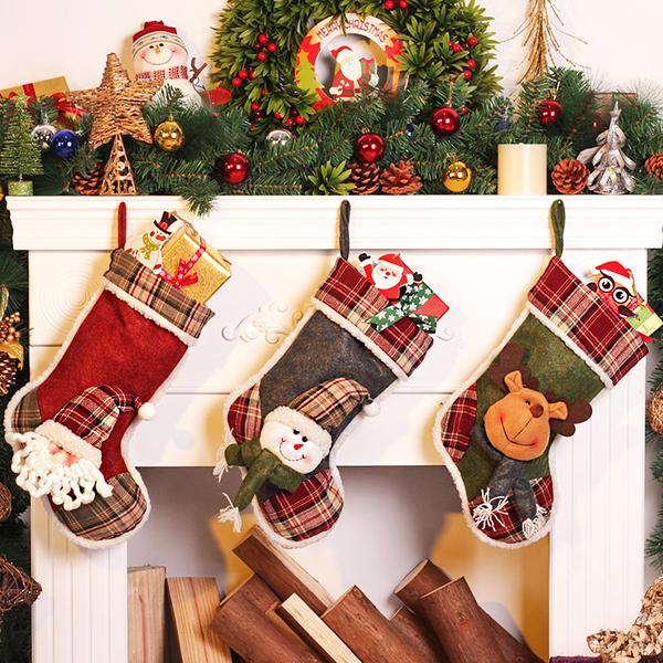 聖誕禮品19  聖誕樹裝飾品 禮品派對 裝飾 聖誕襪 禮物袋