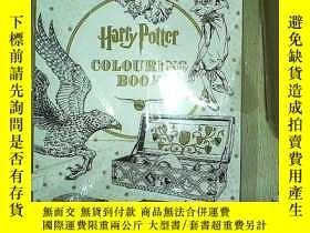 二手書博民逛書店Harry罕見Potter Colouring Book(哈利波