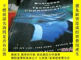 二手書博民逛書店BUSiness罕見and Technnical Communi