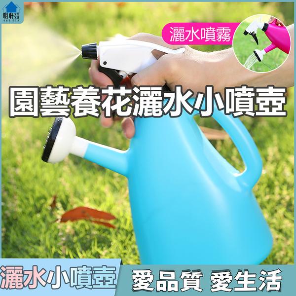 園藝工具灑水壺澆花壺小型噴壺家用噴水壺園藝養花工具小噴霧器氣壓式澆水壺