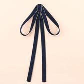 領結女學院風英倫韓版系帶飄帶系帶學生百搭甜美可愛領帶襯衫裝飾