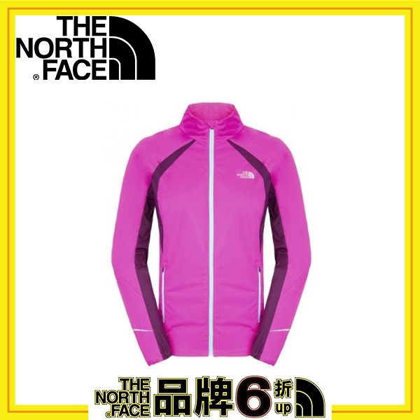 【The North Face 女 HV防水外套《紫羅蘭粉/陰影紫》】A7K4-S1A/吸濕排汗/防風外套/戶外/運動