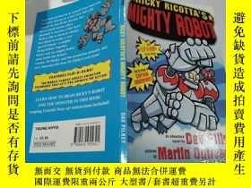 二手書博民逛書店ricky罕見ricotta s mighty robotricky ricotta的強大機器人Y212829