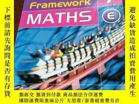 二手書博民逛書店framework罕見maths 7 EY12880 frame