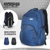 《熊熊先生》Samsonite新秀麗AT美國旅行者休閒後背包旅遊包LOGIX雙肩包大容量可插拉桿筆電包AS5*005