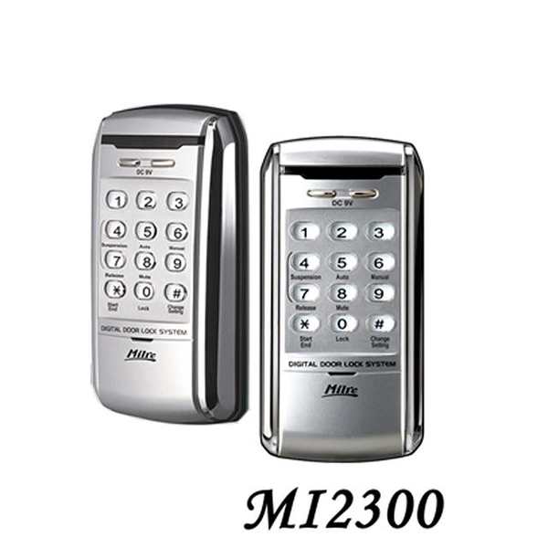 Milie美樂 MI-2300 密碼電子鎖 感應鎖 按鍵式密碼智能鎖 輔助鎖 門鎖 三星電子鎖 防盜鎖
