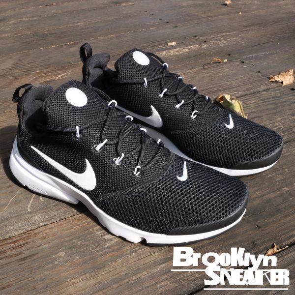 Nike Air Presto Fly 黑白 鯊魚骨 魚骨鞋 襪套 復古 慢跑鞋 男 (布魯克林) 2018/1月 908019-002