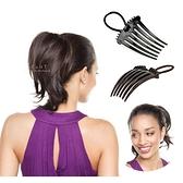 馬尾蓬鬆髮插盤髮器 美髮用品 增髮墊