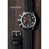 女郎彩繪 elegantsis JF48QS機頭藝術計時手錶-黑/48mm ELJF48QS-OB01LC