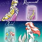 星空投影機 水波版 迪士尼公主系列_ S...