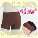 內衣頻道♥B346 台灣製 輕機能 提臀束腰 無痕鎖邊 中腰 平口束褲 -M/L/XL (3入/組)