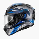【東門城】SOL SF-6 獨角獸(黑藍) 全罩式安全帽 雙鏡片