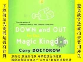 二手書博民逛書店Down罕見And Out In The Magic Kingdom-在魔法王國裏Y436638 Cory D