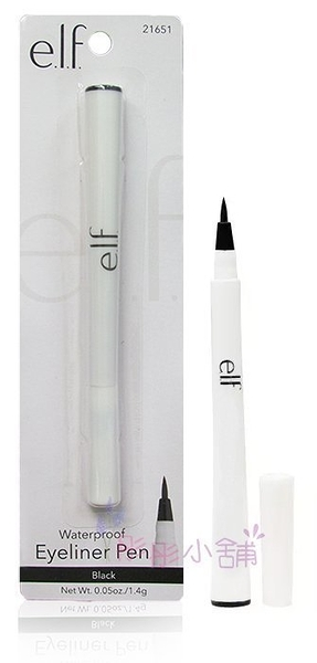 【彤彤小舖】e.l.f. Waterproof eyeliner pen 防水眼線筆 1.4g 黑色 elf 出清優惠
