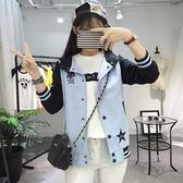 薄版外套新品少女春秋裝短款夾克正韓百搭棒球服初中高中學生