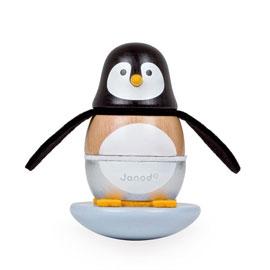 【法國Janod】層層疊搖滾樂-頑皮企鵝