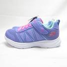 Skechers S LIGHTS-GLIMMER-KICKS 中童鞋 302302LPERI 紫【iSport】