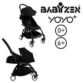 法國【BABYZEN】YOYO-Plus手推車+套件-黑腳 (黑色)