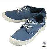 Palladium 新竹皇家 VOYAGE 旅行系列 藍色 布質 低筒 休閒鞋 女款 NO.I7727