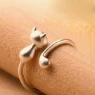 S925純銀 俏皮大方設計 戒指-維多利亞160694
