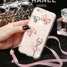 蘋果 IPhone XS Max XR IX i8 Plus i7 i6S i5 SE 手機殼 水鑽殼 客製化 訂做 蝶舞芭蕾