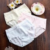 4條全棉100%舒適純色內褲女純棉中腰抗菌都市少女生透氣麗人女士『夢娜麗莎精品館』